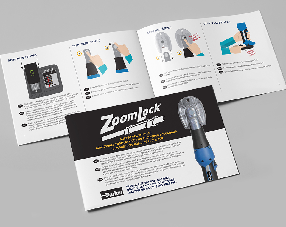 ZoomLock Multi-Language Instructions