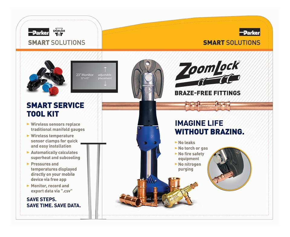 ZoomLock 10ft Trade Show Display