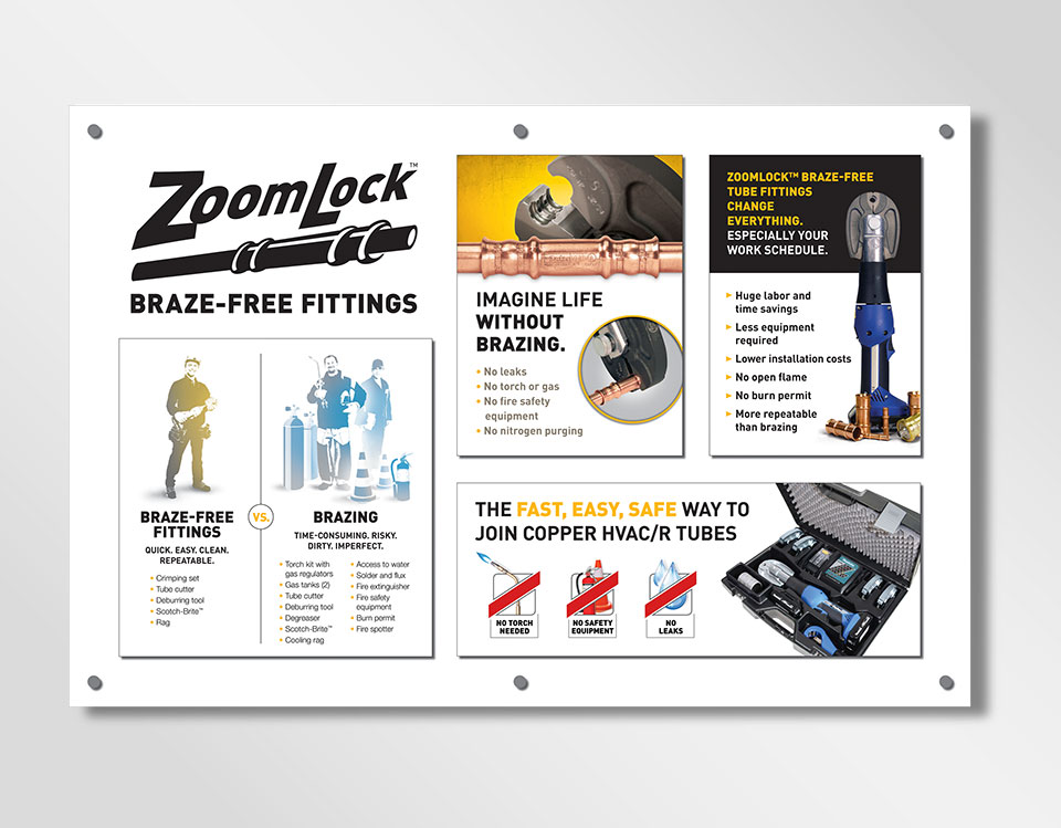 ZoomLock Dealer Display