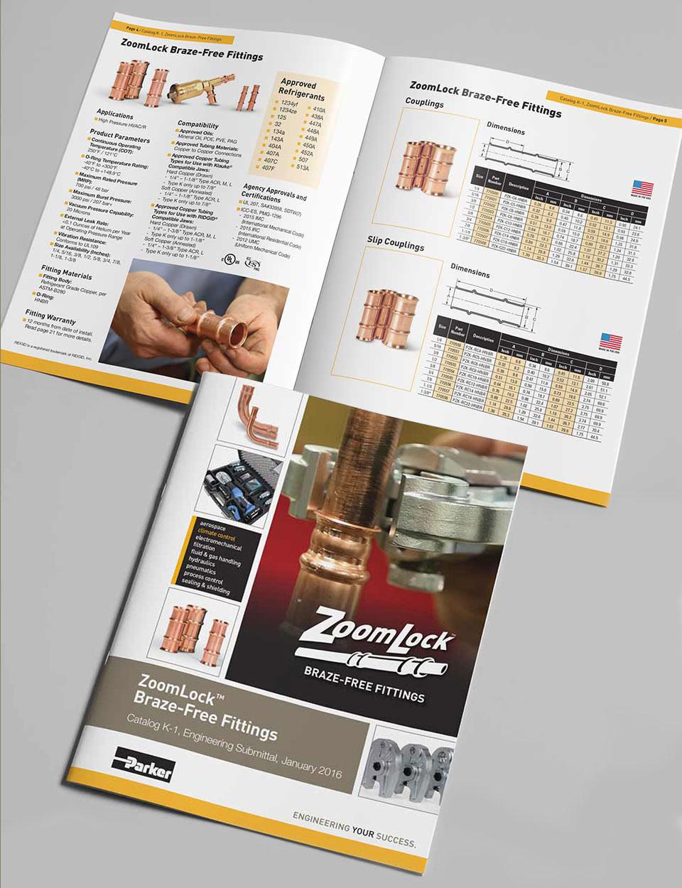 ZoomLock Catalog K-1