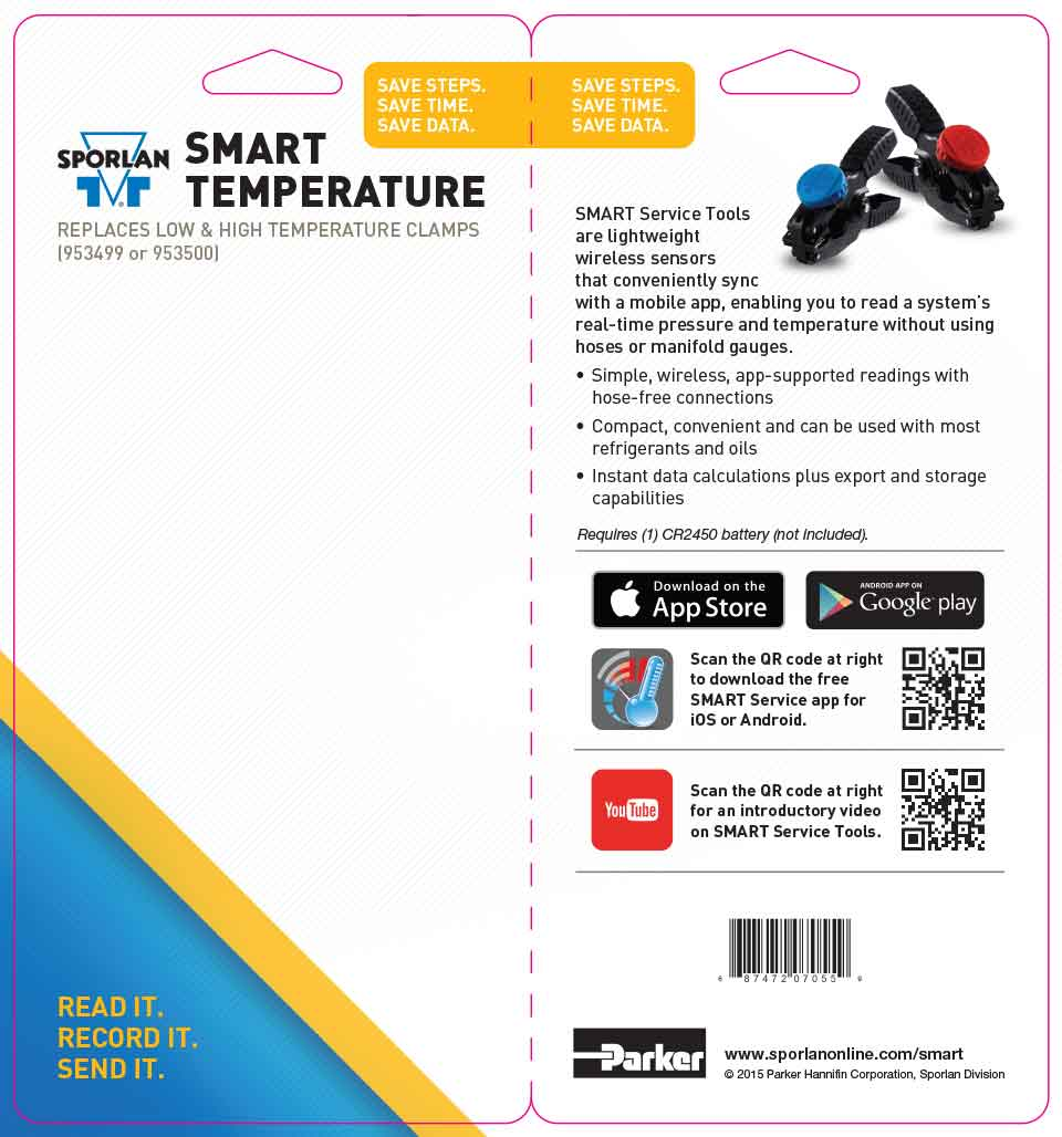 SMART Temp. Clamp Packaging
