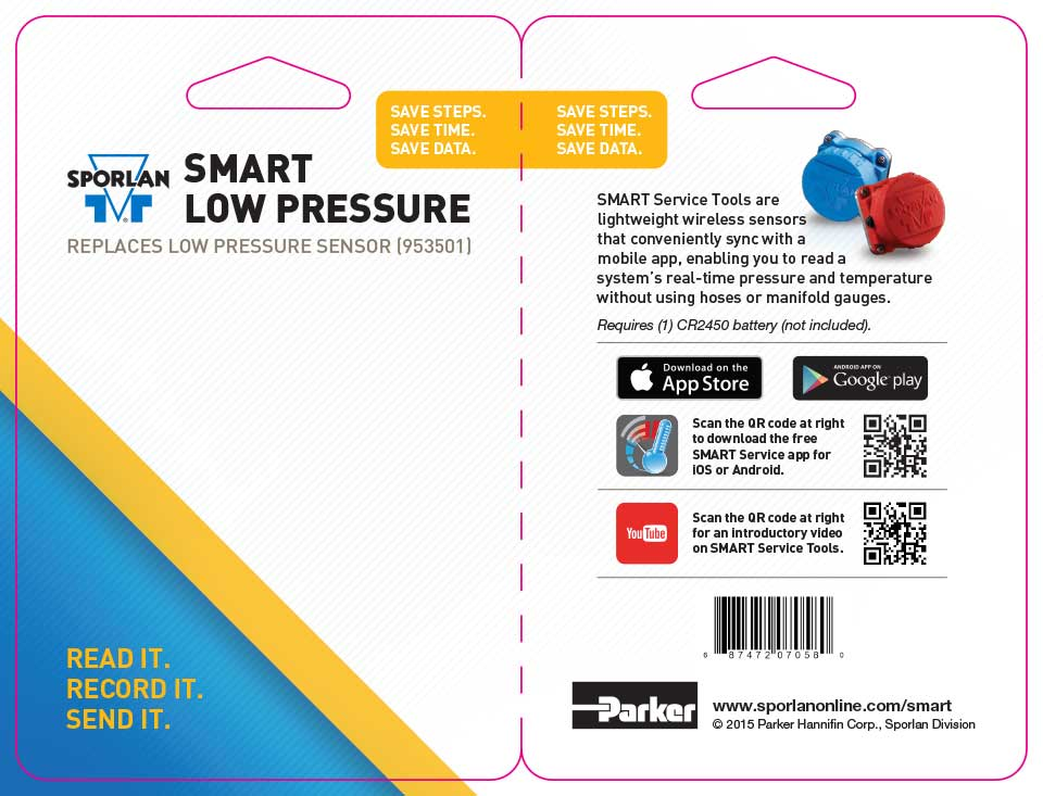 SMART Low Press. Sensor Packaging