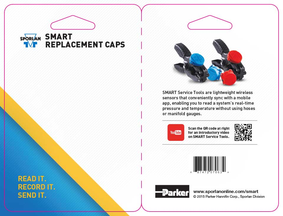 SMART Replacement Cap Packaging