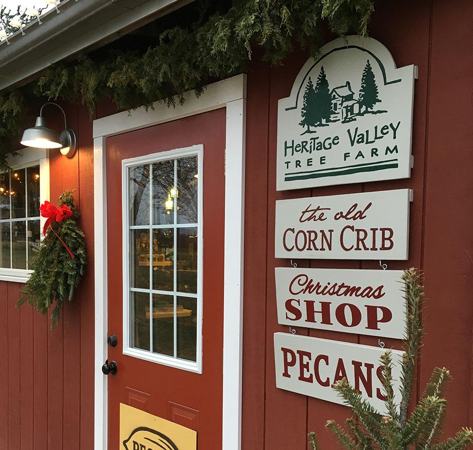 Corn Crib Signage